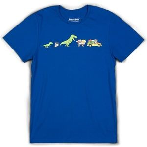 Jurassic Park Cartoon T Shirt NWOT